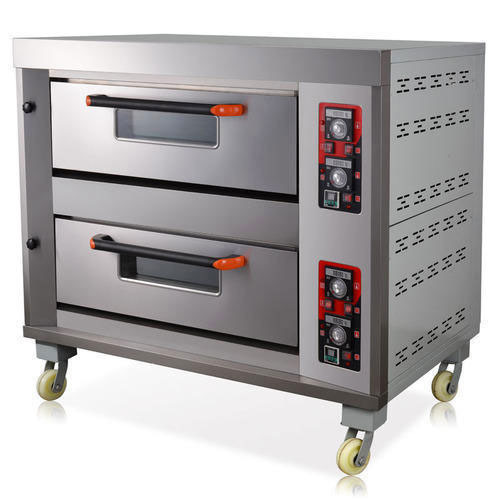 Double Deck Commercial Gas Oven