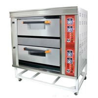 Portable Commercial Gas Deck Oven