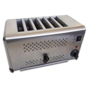 6 Slot Electric Toaster