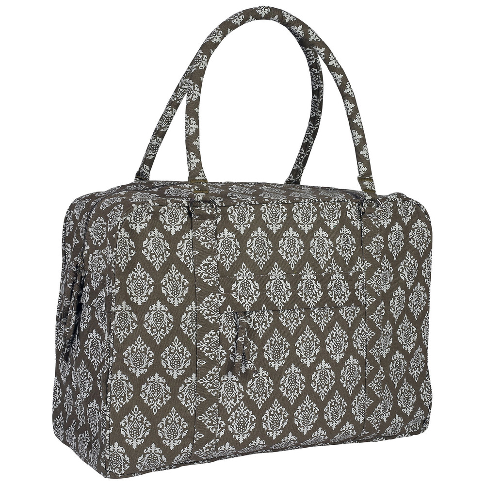 Yoga Kit Bag (Grey) With Full Body Print