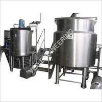 Sugar Dissolver Tank
