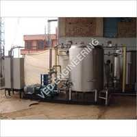 Piston Valve Operated Hot Water Generation System