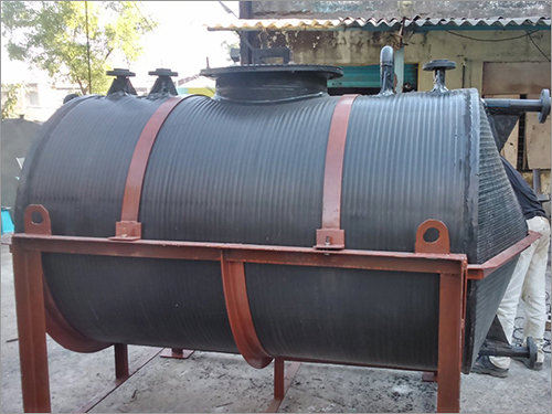HDPE Horizontal Tank With Ms Structure