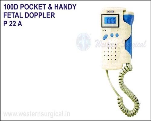 100 D POCKET & HANDY FETAL DOPPLER (WITH LCD DISPLAY)