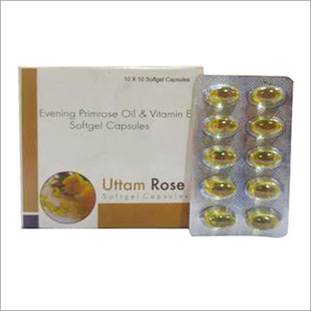 Rose Softgel Capsules