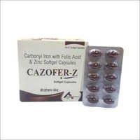Cazofer-Z Softgel Capsules