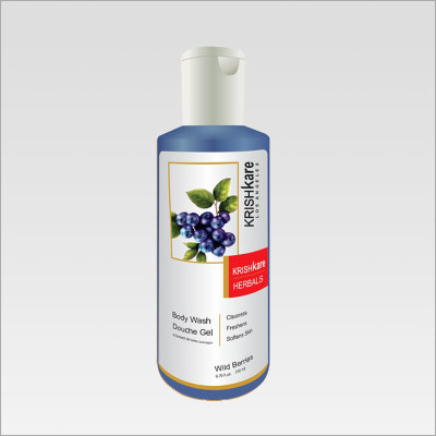 Herbal Body Wash Wild Berries