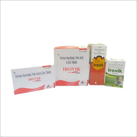 Irovik Tablets and Syrups