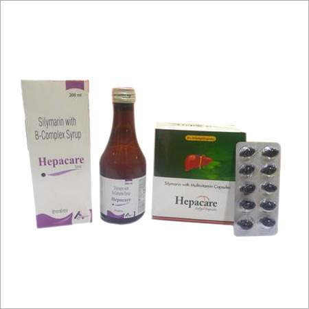 Hepacare Capsules and Syrup