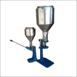 Hand Operator Paste Filling Machine
