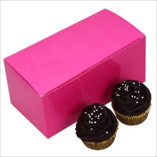 Cupcake Box - Pink (2 Piece)