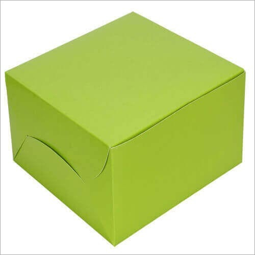 Green Pastry Box