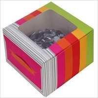 Pastry Box - Multicolour - Window
