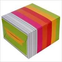 Multicolour Pastry Box