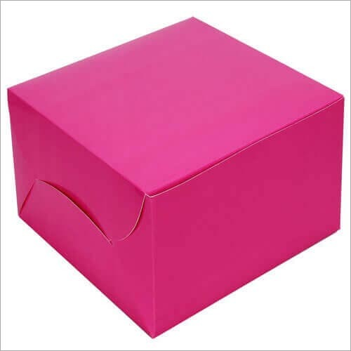 Pink Pastry Box