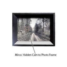 320 - Spy Cctv Dvr In Picture Frame