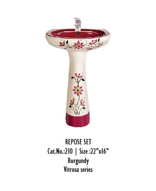 Pedestal Type Wash Basin