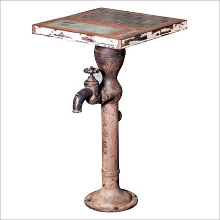 Hand Pump Coffee Table