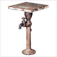 Hand Pump Coffee Table