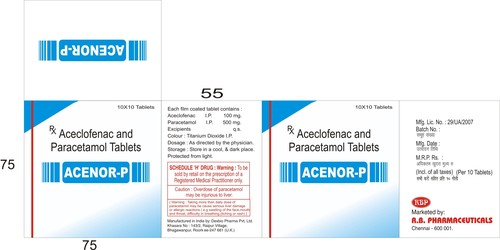 ACENOR P TABLETS