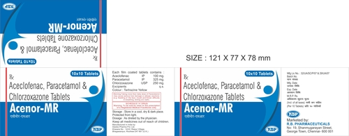 ACENOR MR TABLETS