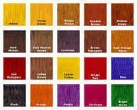 Wood Stain Dyes