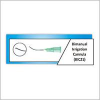 Bimanual Irrigation Cannula