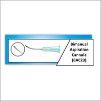 Bimanual Aspiration Cannula
