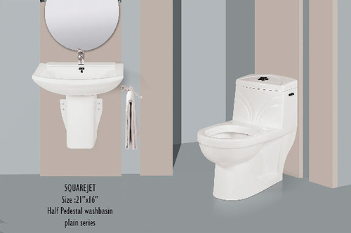Ceramic Bathroom Couple Suite