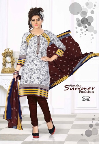 Wholesale Cotton Printed Dress Materials Online