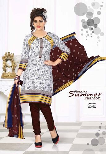 Wholesale Cotton Printed Dress Materials Online