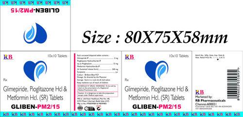 GLIBEN PM 2/15 TABLETS