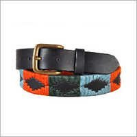 Men's Designer Stitched Belts