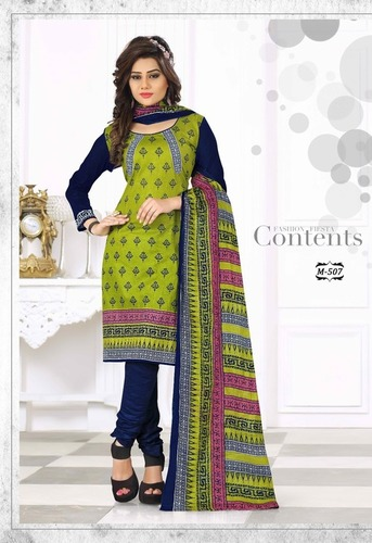 Cotton Bazar Sell Cotton Printed Dress Materials Wholesale