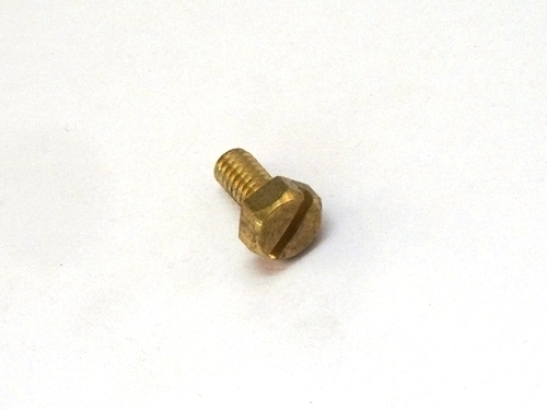 Brass Slotted Hex Bolt