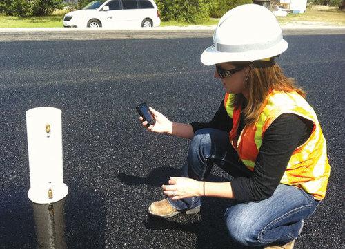 Road Material Testing
