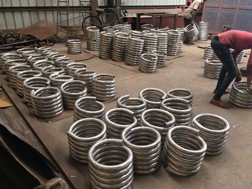 Stainless Steel Helical Coil