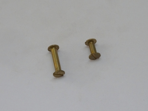 Brass File Screw