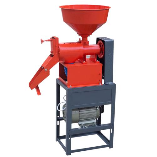 Semi-Automatic Mini Rice Mill Machine