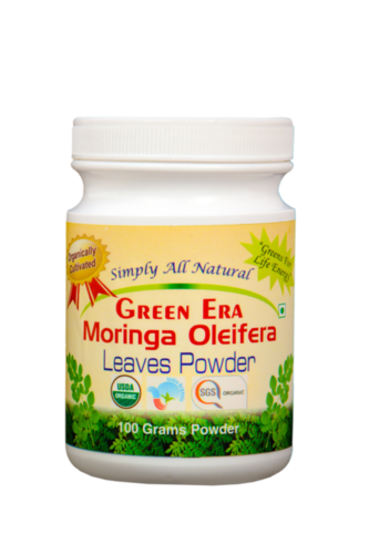 Alfa Alfa Leaves Powder 120 Veg.Capsules Bottle