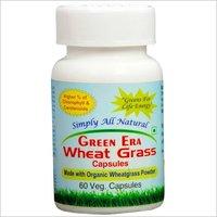 Wheat Grass Herbal Capsules