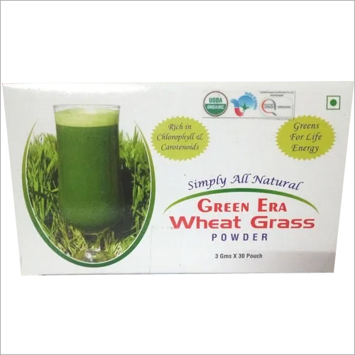 Wheatgrass Pouch Box