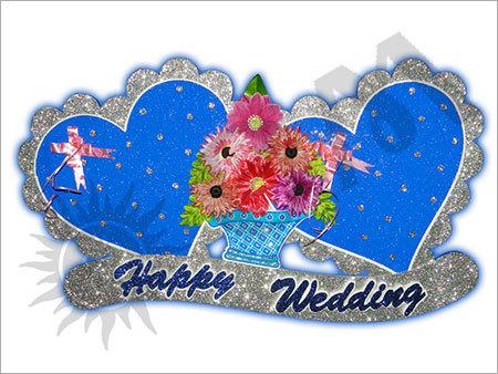 Wedding Heart Decorative Article