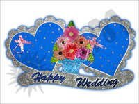 Wedding Heart Decorative Article