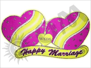 Small Marriage Heart Decorative Articles