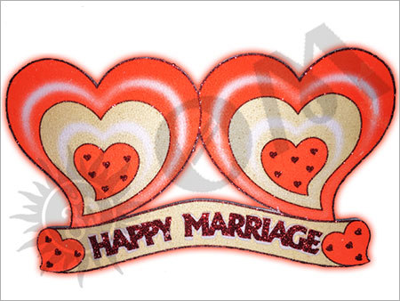 Small Marriage Heart Decorative Article