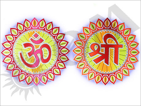 Ganesh Chaturthi Thermocol Decorative Articles