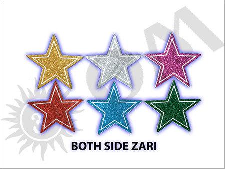 Both Side Zari Decorative Article
