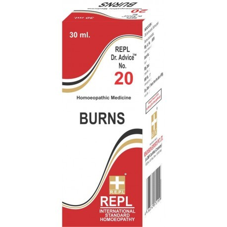Burns Homeopathic Medicines