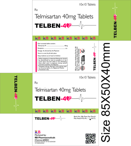 TELBEN 40 TABLETS